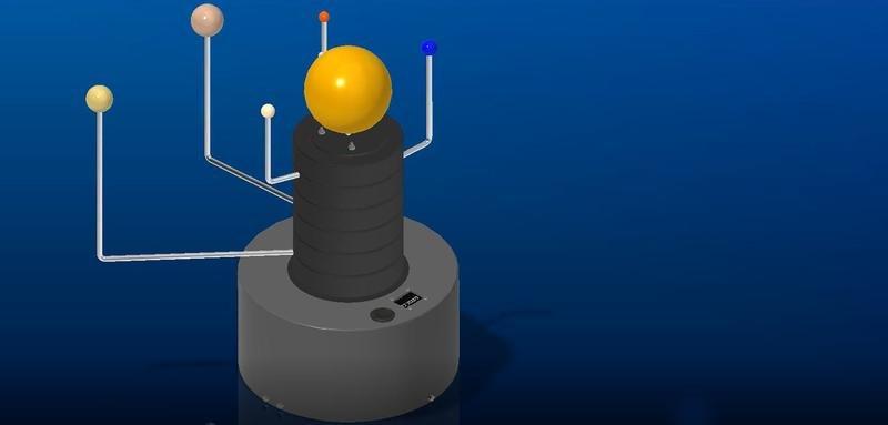 FHWS-Maschinenbau-Studierende-bauen-ein-Sonnensystem